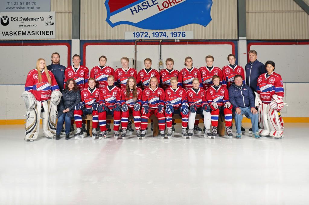 Job: 201516-sport-NIHF-Hasle-Løren Ishockey Group: Hasle-Løren Ishockey - U16