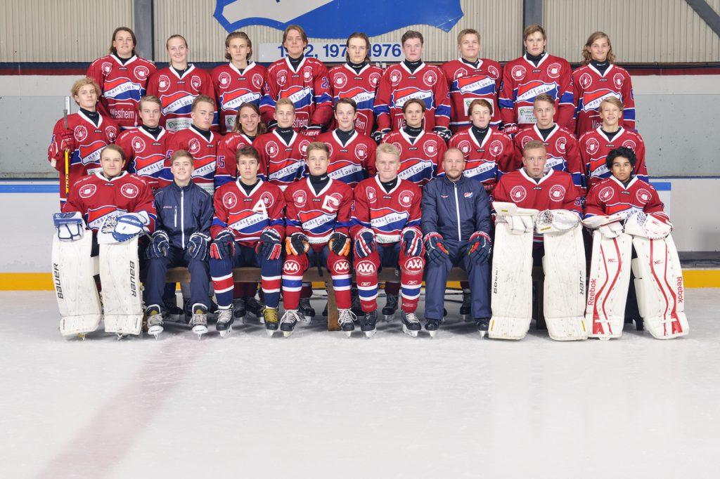 Job: 201617-sport-klubb-Hasle-Løren IL Group: Hasle-Løren Hockey - U18